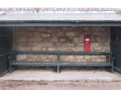 Friday Bench With Postbox