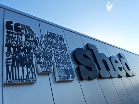 Picture of M Shed sign